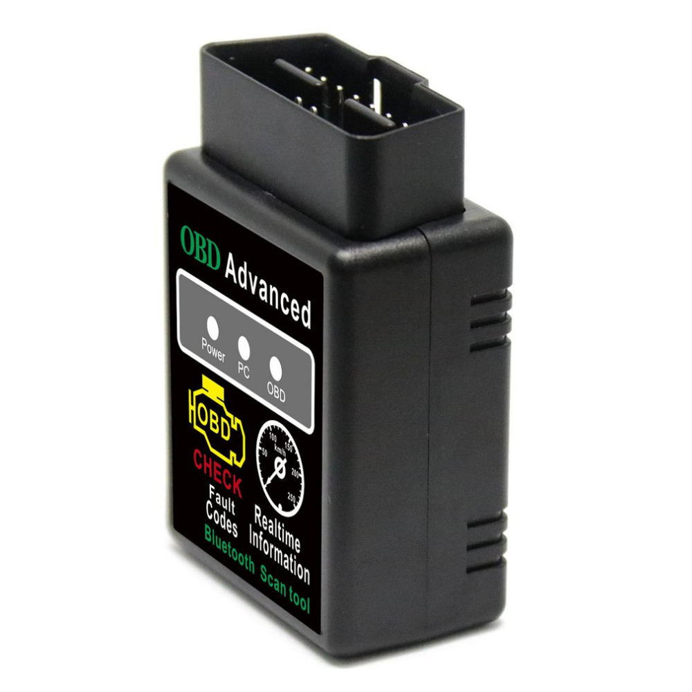 Universal <font><b>2</b></font> Colors ELM327 Bluetooth HH OBD Advanced OBDII OBD2 ELM <font><b>327</b></font> Auto Car Diagnostic Scanner code reader scan tool image
