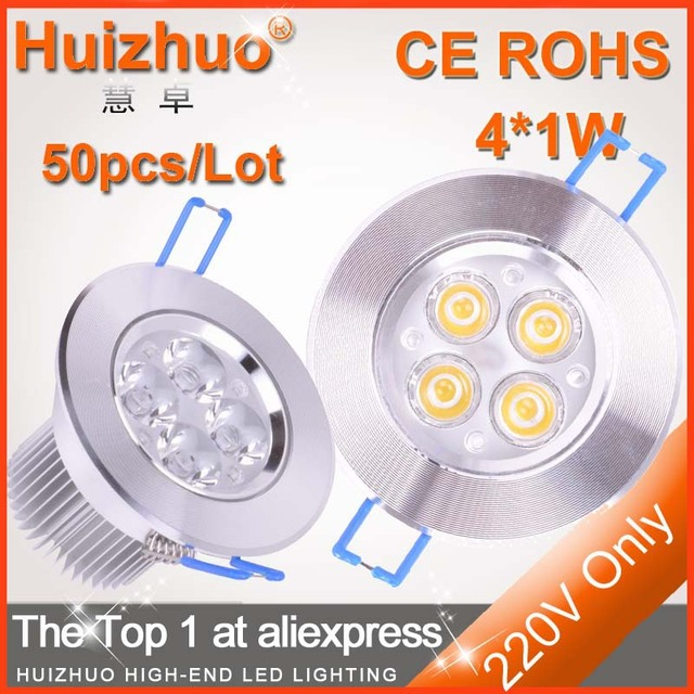 [Huizhuo Lighting]New style warm white LED down lighting,4W ceiling lamp,High popular lighting spot