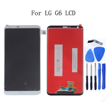 """5.7 """"Orijinal için LG G6 Ekran Dokunmatik ScreenH870 H870DS H873 H872 LS993 VS998 US997 tamir kiti Değiştirme + Ücretsiz Kargo"""