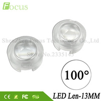 100 Degree LED Lens Mini PMMA Lenses 1W 3W 5W COB LED Diode For 1 3