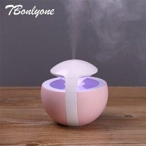 Image 5 - TBonlyone 450ml olejek eteryczny do nawilżacza powietrza dyfuzor aromaterapia lampa elektryczny rozpylacz zapachów Mist Maker nawilżacz dla domu
