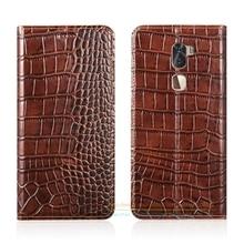 Крокодил зерна натуральная кожа чехол для LeTV LeEco Прохладный 1 двойной/LeEco Coolpad Cool1 5.5 «чехол телефона и невидимые магнит