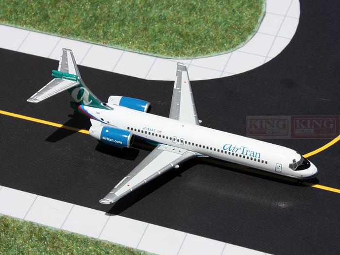 GJTRS1303* GeminiJets through (N948AT) 1:400 commercial jetliners plane model hobby B717-200
