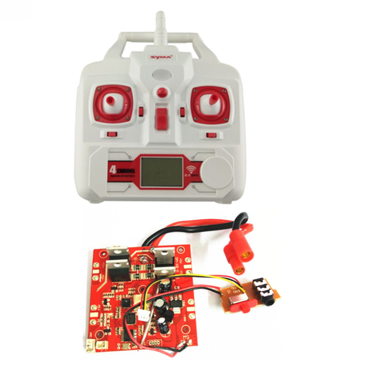 SYMA X8C X8G X8W four axis aircraft remote control aircraft unmanned aerial vehicle parts receiving board X8C-21 remote control youdi 2 4g remote sensing four aircraft genuine four rotor helicopter toys wholesale shatterproof