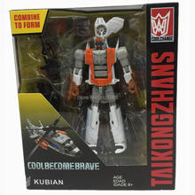 Hzx Transformasi G1 Superion IDW 5 In 1 5IN1 Set Tim Perang Ko Koleksi TF Action Figure Mainan Anak Anak