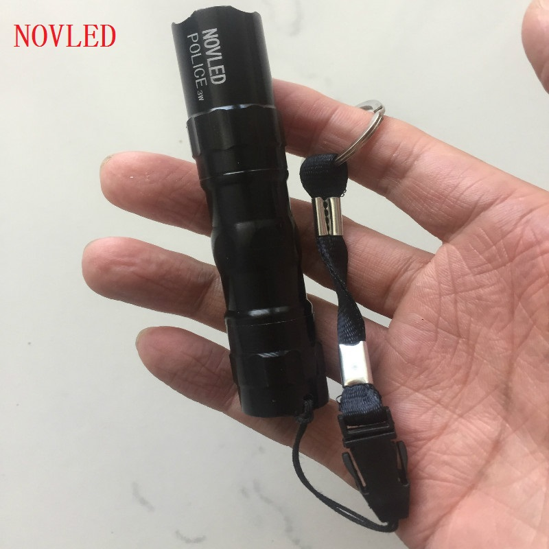 Mini penlight 2000LM Waterproof LED Tactical Flashlight Torch Modes NO Adjustable Focus Lantern Portable Light use AA 14500 mini penlight 3000lm waterproof led flashlight torch 3 modes zoomable adjustable lantern portable light use aa or 14500