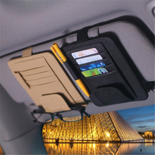 eye frame holder Car Sun Visor Glasses Sunglasses Ticket Receipt Card Clip Storage Board multifunctional Holder auto supplies
