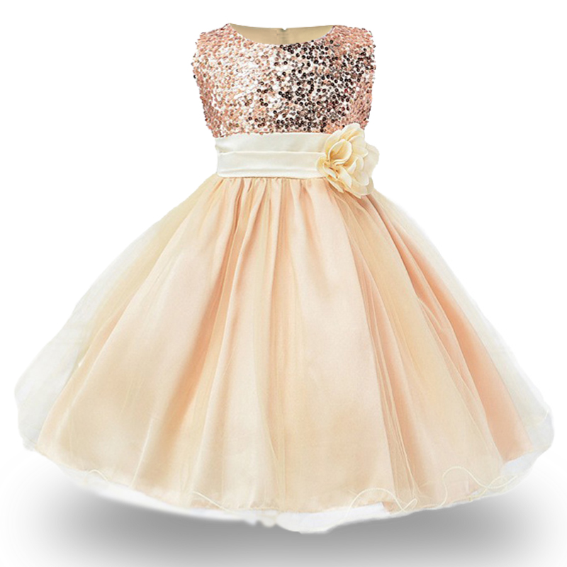 HTB1YBUYPFXXXXbAaXXXq6xXFXXXX - 3-14yrs Hot Selling Baby Girls Flower sequins Dress High quality Party Princess Dress Children kids clothes 9colors