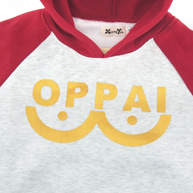 One Punch man Saitama Oppai hoodie Hooded Sweatershirt (8)