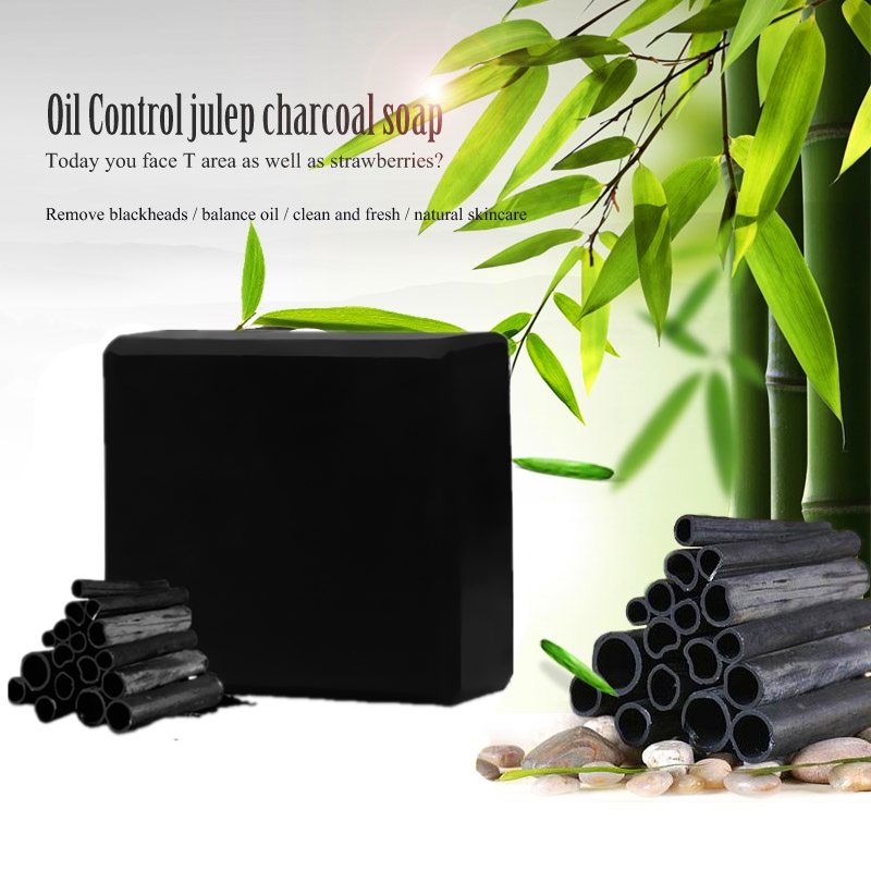 Whitening facial soap deep cleansing black soap oil control lifting firming face Wash Hair Care Bath Skin Care 5