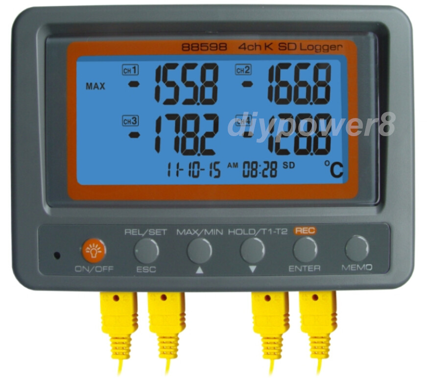 Electronic Water Meter Data Log : Aliexpress buy multi channel digital thermometer