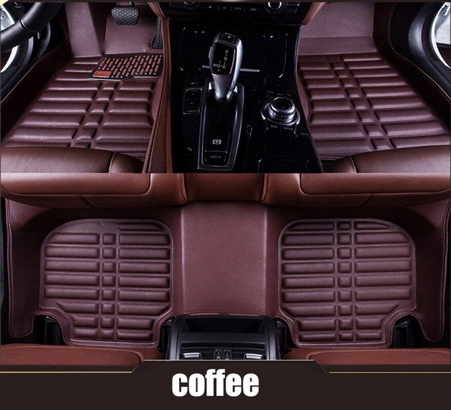 kalaisike Custom car floor mats for BMW 3 5 7 Series E46 E39 E90 E60 E36