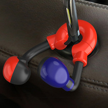 Car Back Seat Headrest Bar Hanging Hook High Quality TPU Materials Hanging Hook Replacement Storage Holder For Car Styling cheap tancredy Seat Back Bag