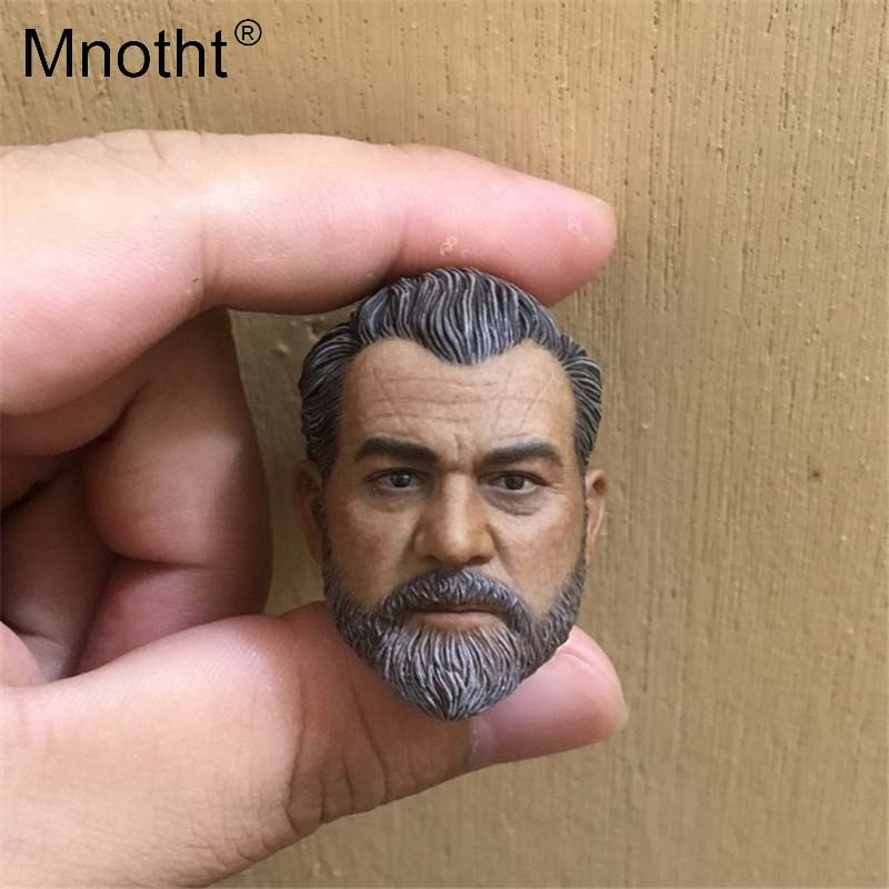 Mnotht Head Sculpt Model 1/6 Scale Syria Military contractor Head Carving Toys Hobbies np gc b002 1 10 exo armored suit private military contractor