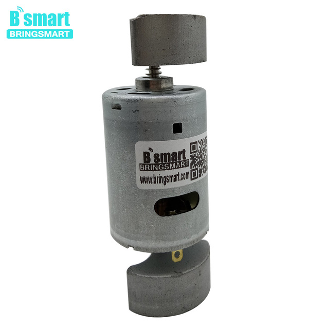 Bringsmart RF-545 Mini DC Motor Double-end Micro Vibration Motor Double shaft Small Electric Motor Strong Vibrating for Massager