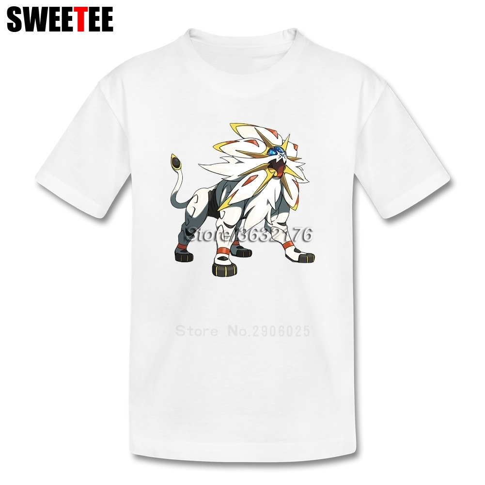 Pokemon Sun And Moon Children Toddler 100% Cotton Boy Girl 2018 T-shirt Round Neck Kid Tops T Shirt Infant Tshirt