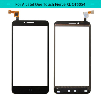 20pcs/lot Touch Panel For alcatel OneTouch Fierce XL 5054N OT5054 Touch Screen Glass Digitizer Sensor Replacement