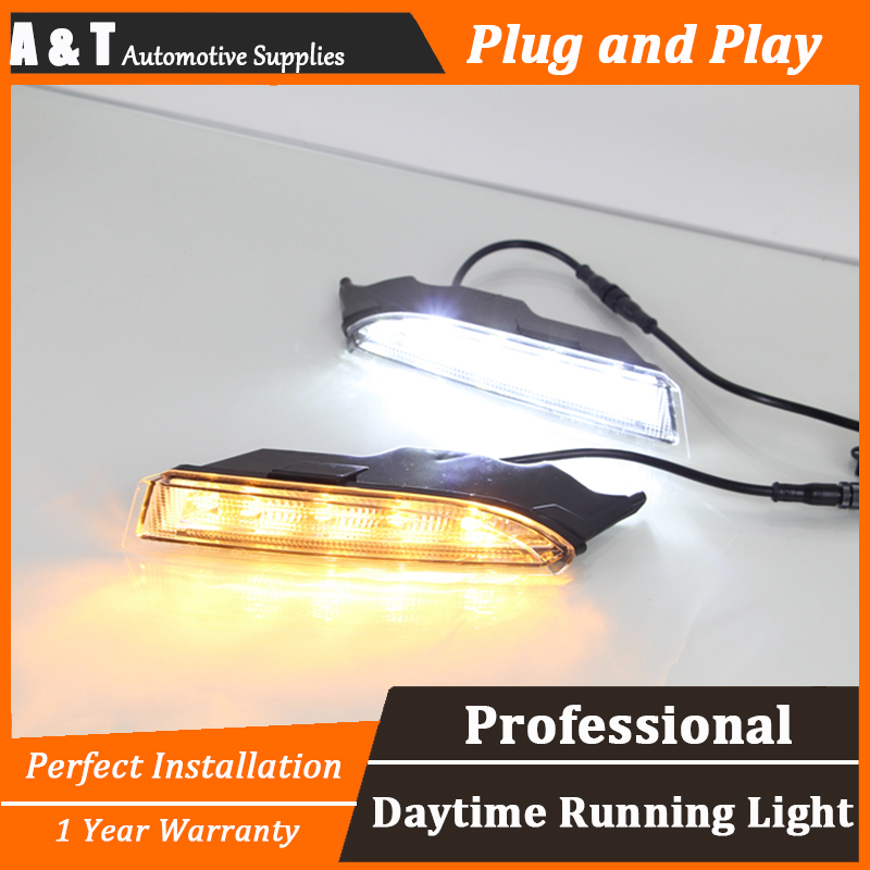 A T car styling For VW Scirocco LED DRL For Scirocco High brightness guide LED DRL