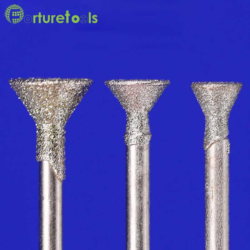 50pcs punta de diamante montada dremel herramienta rotativa montado - Herramientas abrasivas - foto 5