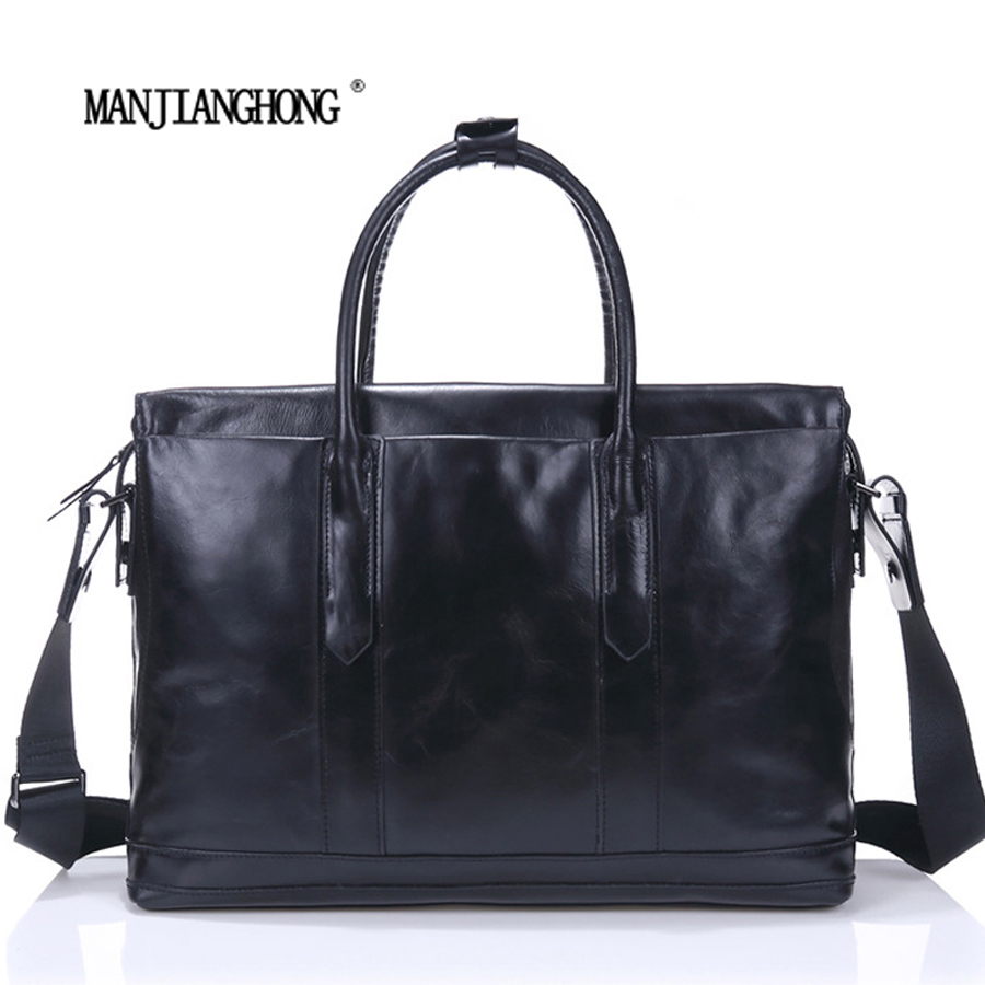 Genuine Leather Men Bags Messenger Bag Leather Man Shoulder Crossbody Mens Bag Business Laptop Briefcase Men Handbag Laptop Bags casio prw 6100y 1a