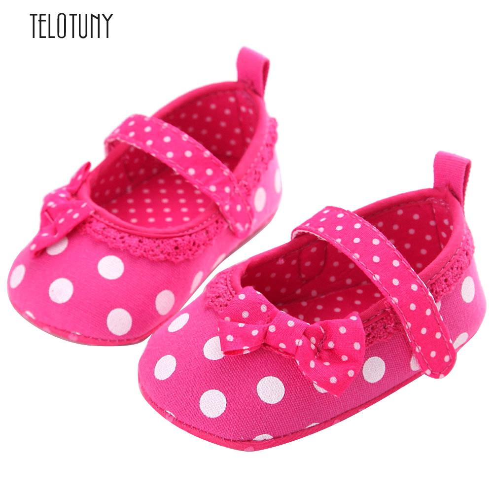TELOTUNY Baby Infant Kids Girl Soft Sole Crib Toddler Newborn Shoes comfortable Soft Crib Shoes Cloth s3feb24