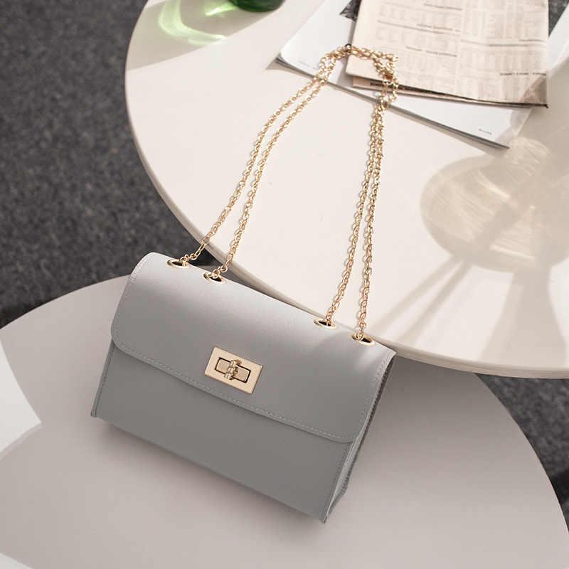 Casual saco de corrente de aleta saco do mensageiro bolsa de ombro feminino bolsas de festa senhoras luxo sacos de embreagem