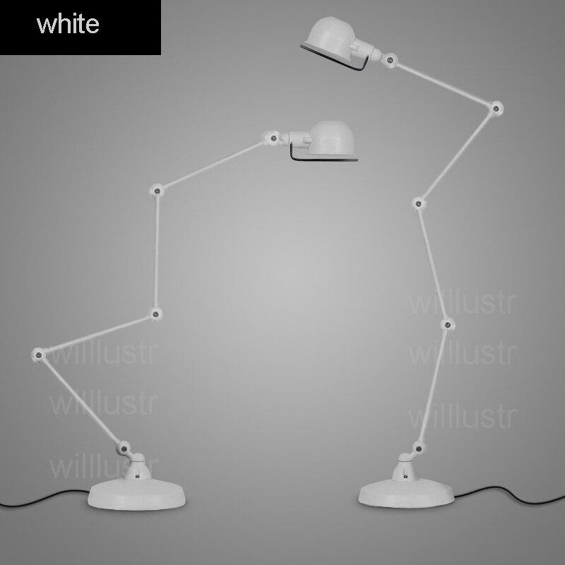 Willlustr Replica RH ATELIER TASK FLOOR LAMP rust white black chrome ...