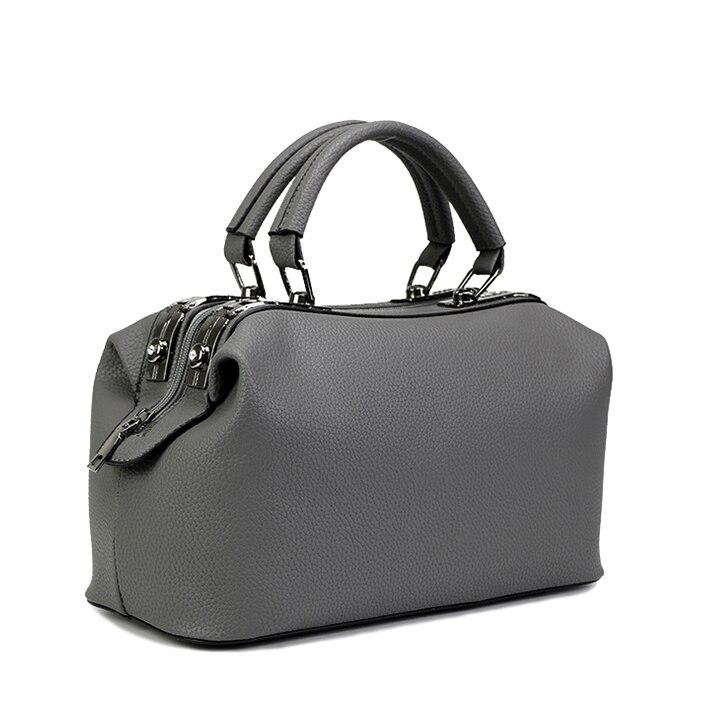 Women Tote Bag Boston Handbags Women's Shoulder Bags 2017 New Ladies Top Handle Bags For Women's Fashion Bags Female Designer