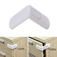 10PCS Lot Baby Child Kids Infant Safety Cabinet Cupboard Door Fridge Wardrobe Drawer Lock