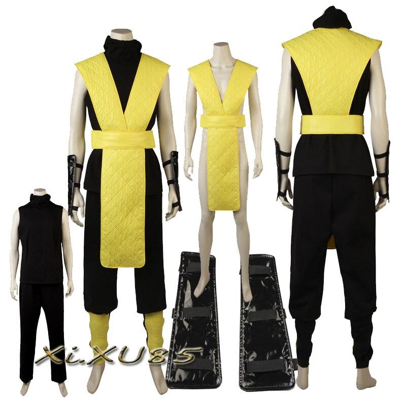 Mortal Kombat X Scorpion Kitana Jade Cosplay Costume ...