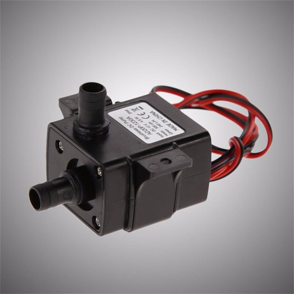 Dc 12 V 240l/h Tauch Wasser Elektrische Pumpe Mini Ultra Ruhig Schwarz Pumpe Mechanische Hardware Aquarium Pro Wasser Pumpe Warmes Lob Von Kunden Zu Gewinnen