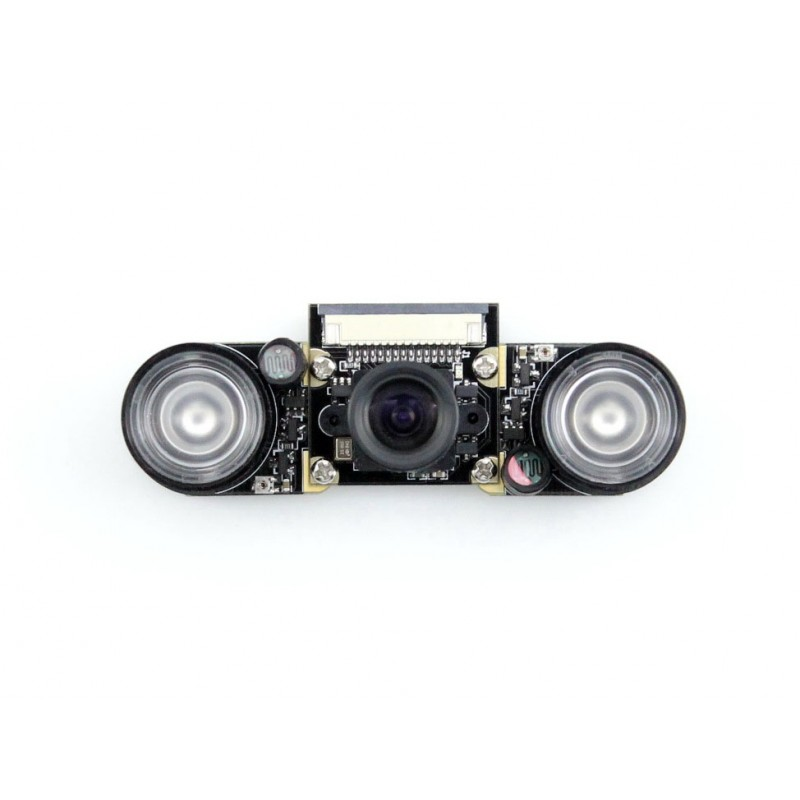 original raspberry pi pinoir camera v2 video module 8mp module Waveshare Raspberry Pi 3 B Camera module Kit F # 5 MP 1080p OV5647 Night Vision Webcam Camera Kit Adjustable Focal Fishey