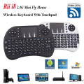 i8 Russian Mini Wireless Keyboard 2.4GH Fly Air Mouse Touchpad for Android TV BOX Laptop PC Gaming Remote Control PS3 Hebrew Key