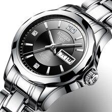 2017 Бингер Смотреть Для женщин Элитный бренд Японии Автоматическая механическое движение наручные сапфир Водонепроницаемый женские часы золотой 8051-6