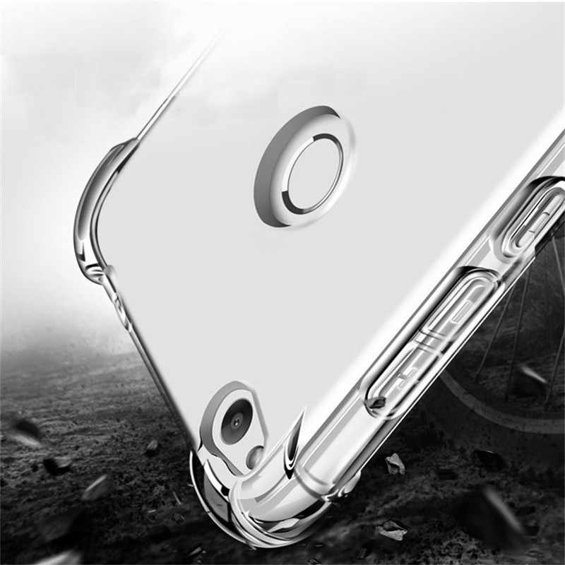 Clear Anti-knock Fundas for Huawei P8 P9 P10 P20 P30 lite P30 Pro Honor 6X 7X 8X 8C 8S 8A 9 10 Mate 10 20 lite Cover case