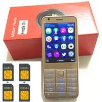 4 Sim Cards 4 Standby 2 8 Mobile Phone Mp3 Gsm China 1000mAh Battery Phone Cheap