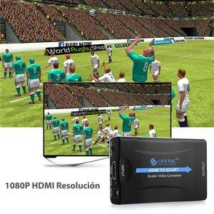 Image 2 - Esynic Cho Chuyển Điện Âm Tường Có Adapter Chuyển Đổi Video Tổng Hợp HD Stereo Adapter Chuyển Đổi HDMI Âm Thanh Cao Cấp Tín Hiệu Adapter