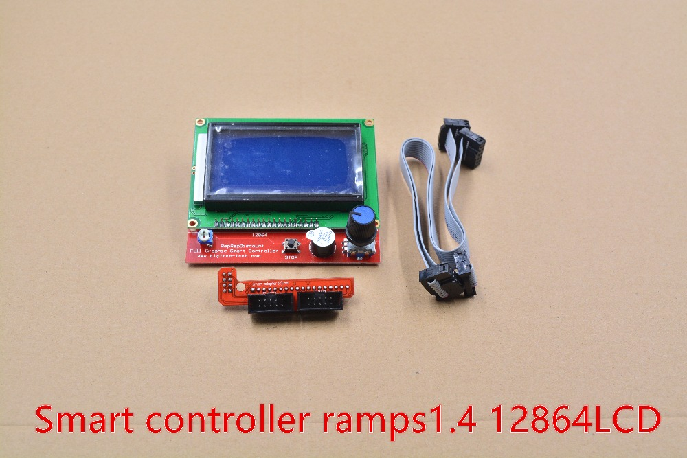3d printer kit smart controller RAMPS1.4 LCD12864 LCD 12864 control panel 1pcs
