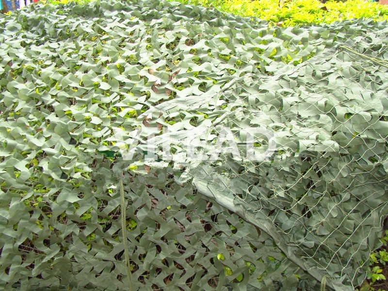 VILEAD 3x3M Filé Camo Compensação Rede de Camuflagem Verde Sun Tarp Tenda Varanda Gazebo Festa Temática Decoração Caça compensação