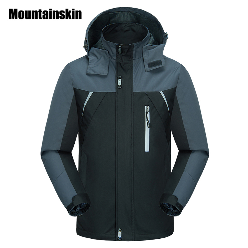 Mountainskin 2018 Spring font b Jackets b font font b Men s b font Coats 4XL