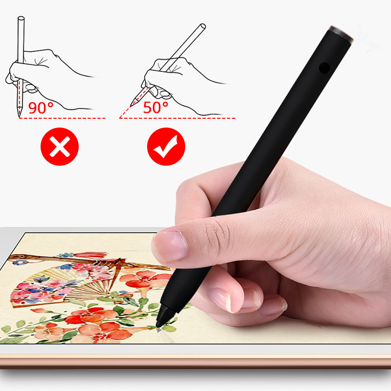 Tablet Touch Pen For Apple Pencil Stylus Pen For IPad 9.7 2018 Mini 2 3 Pro Air For Xiaomi Samsung Painting Pen Capacity Stylus