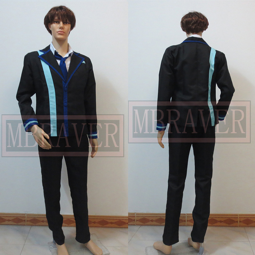 Black Bullet satomi rentaro cosplay costume custom made any size