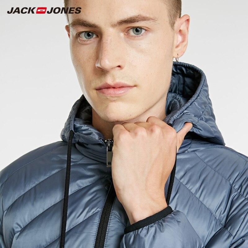 JackJones Men's Light weight Portable Down Jacket Parka Coat Menswear 218312510