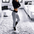 high waist workout Legging workout clothes for women work out fitness clothing female excise track pants clothing T167
