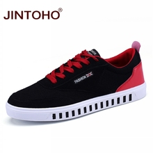 JINTOHO ファッション男性カジュアルシューズブランドスニーカー男性カジュアルレザーシューズ男性格安男性の靴男性スニーカー Bota Ş hombre