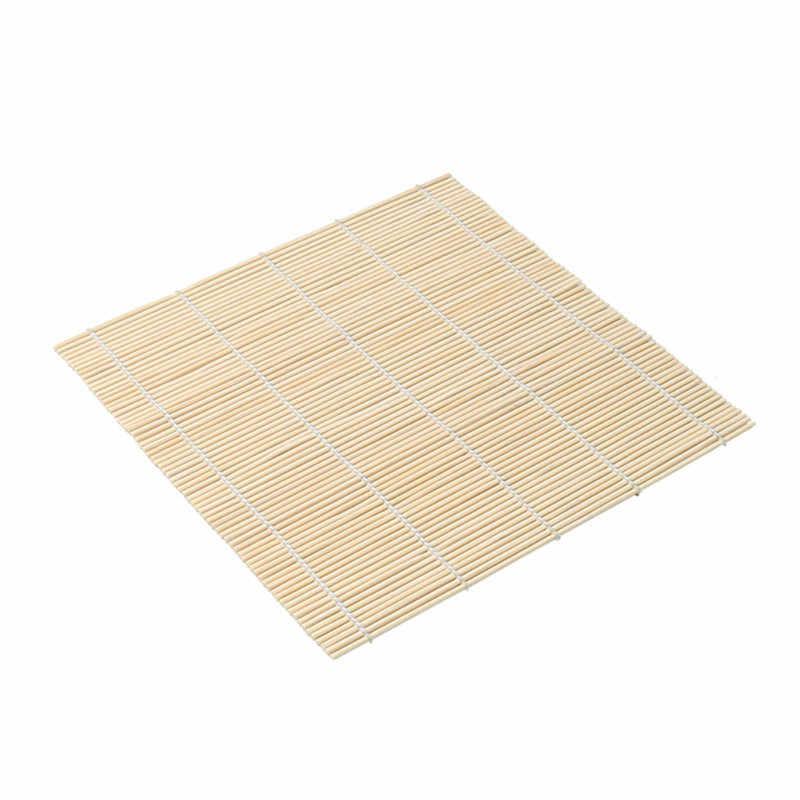 أدوات مطبخ يمكن شحنها من خشب الخيزران للسوشي أونيجيري أداة لدوّارة الأرز من أونيجيري أدوات لمستلزمات وحصيرة الخيزران أدوات لف