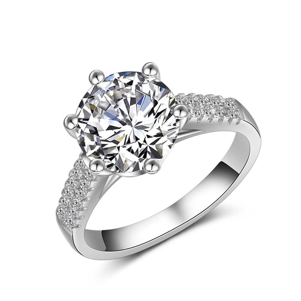 Online Get Cheap Simple Elegant Wedding Rings Aliexpresscom