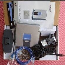 Разблокированный Linksys PAP2-NA PAP2T PAP2T-Na ATA телефонный адаптер SIP VOIP телефонный адаптер, 2 FXS телефон