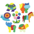 1Pcs Wooden Animals Kid Children Educational Toy Puzzle Developmental Baby Toys Christmas Gift