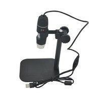 USB dijital elektron mikroskop Kamera elektronik stereo 500X için Büyüteç Gözlük Büyüteç led 50X Danışma Büyüteç Siyah